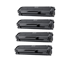 4PK New MLT-D101S Toner Cartridge for Samsung ML-2165W SCX-3400 SCX-3405W 3405FW