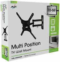 AVF Standard Multi Position 32-55 Inch TV Wall Bracket - E307
