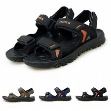 39-45 Summer Mens Slip On Slingback Sports Beach Sandals Outdoor Hiking Shoes D