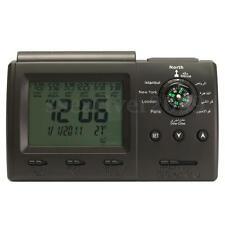 Digital Automatic Islamic Azan Muslim Prayer Alarm Table Clock Adhan Qibla Gift