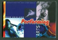 New Zealand 1476-1481 Booklet MNH 1998 Performing Arts Prestige Dance Musik