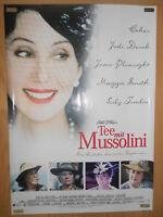 Tee mit Mussolini Judi Dench - Filmplakat 60x80cm gerollt