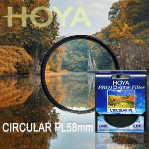 HOYA 55 mm CPL Pro1 CIRCULAR Polarize Digital Camera Lens Filter for SLR Cameras