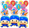 Pocoyo Birthday Party Balloon Supplies Decoration CUPCAKE TOPPER banner favor