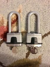 Master Lock Padlocks X2040 with Keys (Lot of 2)