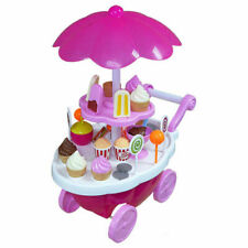 39 Pcs Luxury Candy Car -ice Cream Cart for Kids Battery Operated Sweet Shop