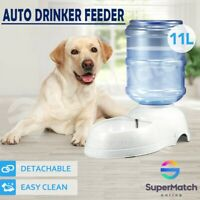 Pet Dog Water Dispenser Feeder Cat Puppy Bottle Bowl Dish Automatic Drinking