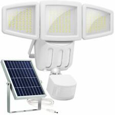 Ultra Bright Outdoor Triple Head Motion Activated Security Light Wide Angle