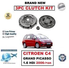 NUEVO Kit de 3 PIEZAS DE EMBRAGUE PARA Citroën C4 Grand Picasso 1.6 HDi 2006-