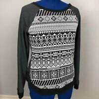 Maurices Women's Size M Embroidered Long Sleeve