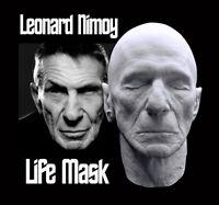 Leonard Nimoy Rare Life Mask With Ears Star Trek Mr. Spock Live Long and Prosper