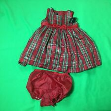 Nwt Holiday editions baby Girl's fashion 2pcs red skirt holiday dress size-24M