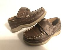 Anchors Edge Bay Loafer, Dress boys Shoes  Size 9.5 Medium Brown.