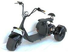 3 Wheel Trike 1500w 60v Electric Scooter Scooterfied.com 18.5 Fat Tire city coco