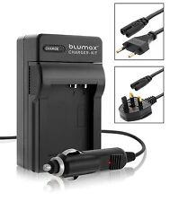 Mains & Car Charger for Panasonic DMW BCF10E DMC FH3 FT4 TS4 FX75 FX700 Battery