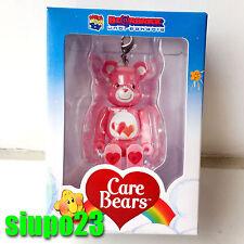 Medicom 100% Bearbrick ~ Care Bears Be@rbrick Love-a-Lot Bear