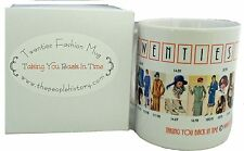 Coffee Mug Featuring Fashion From The Twenties Including Prices