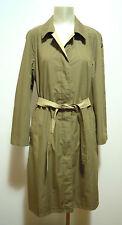 CULT VINTAGE '70 Impermeabile Trench Donna Reverse Woman Rain Coat Sz.M - 44