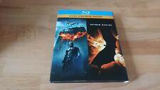 The Dark Night + Batman Begins - 3er Bluray Disc Film Steelbook
