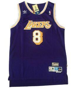 Kobe Bryant Purple LA Lakers Throwback Swingman Jersey Size Small, Medium, 2xl