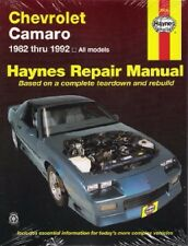 1982-1992 Chevrolet Camaro Haynes Repair Service Workshop Shop Manual 0603