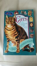 Victorian Cats 10 Projects Decoupage Book With 50 Victorian Scraps