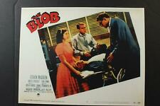 LOT #28: SIX REPRODUCTION THE BLOB HORROR MOVIE LOBBY CARDS~3 Sets of 2 Cards~