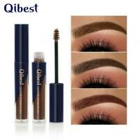 QIBEST 5 Color Waterproof Long Lasting Eyebrow Paste Thick Dyeing Eyebrow Cream