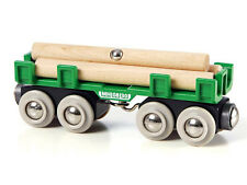BRIO 33696 Wagon mit Holzladung