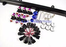 fit Nissan Skyline RB25DET rb25 R32 r33 GTS-T ECR33 rail 750cc Fuel Injectors bk