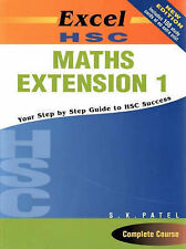 Excel HSC Maths Extension 1 by S. K. Patel (Paperback, 2004)
