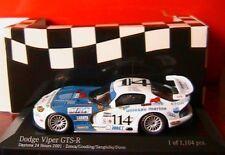 DODGE VIPER GTS-R #114 ZONCA GOODING SANGULIO DUNO DAYTONA 24 H 2001 MINICHAMPS