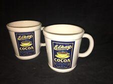 MAGENTA (2) Elkay Cocoa Coffee Tea Mugs Cups