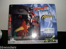 Dc Direct Harley Quinn Vs Robin Limited Edition Gotham Stories Statue 0141/2000