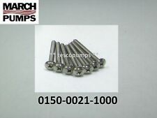 March  0150-0021-1000  set of 7 SS Screws for  LC-5C-MD
