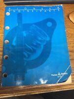 Vintage 1989 Pioneer Engine Parts Catalog