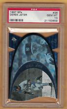 1997 SPX Derek Jeter DIE-CUT #36 PSA GEM MT 10 Yankees