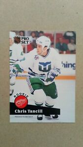 1991-92 Pro Set #539 Chris Tancill Detroit Red Wings