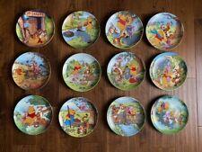 Bradford Exchange Winnie the Pooh Plates- set of 12