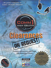 Comm1 Clearances on Request Radio Simulator - IFR Departure Clearance Training