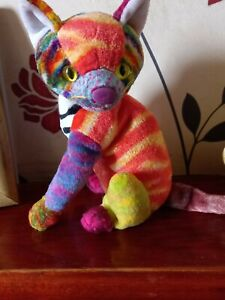 Ty BEANIE BABY KALEIDOSCOPE the Cat. 2000 In perfect condition.