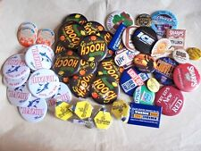 Large Lot of Vintage Mostly Beer Advertising Pinback Buttons and Misc