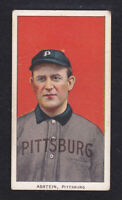 1909 - 11 T206 BILL ABSTEIN PITTSBURG PIRATES SWEET CAP BACK