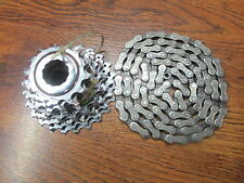CAMPAGNOLO CAMPY 13-23 9 SPEED CASSETTE & CAMPAGNOLO C9 106 LINK CHAIN SET