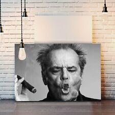 CANVAS WALL ART PRINT ARTWORK PICTURE DEEP FRAMED JACK NICHOLSON SMOKE RINGS