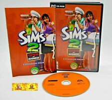 The Sims 2 Open for Business Expansion Pack PC Game Life Simulation Career