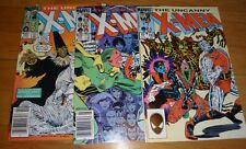 X-Men # 190,191,192 Romita Jr Nm 9.2/9.4