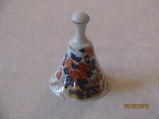 Maruhan Floral Porcelain Bell, Japan