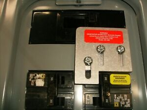Generator interlock kit for Square D QO or Homeline 150 & 200 Amp LISTED SD-200A