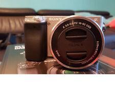 NEU Sony Systemkamera Alpha 6000 Kit Silber mit Garantie